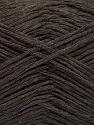 Conţinut de fibre 50% Acrilic, 50% Bumbac, Brand ICE, Dark Brown, fnt2-57913
