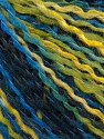 Περιεχόμενο ίνας 50% Μαλλί, 50% Ακρυλικό, Brand ICE, Green Shades, Blue Shades, fnt2-57927