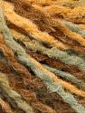 Fiber Content 80% Acrylic, 20% Wool, Light Khaki, Brand ICE, Gold, Brown, fnt2-57982