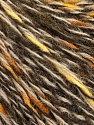 Fiber Content 50% Acrylic, 50% Wool, Yellow, White, Brand ICE, Brown Shades, fnt2-57996