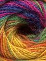 Vezelgehalte 75% Acryl, 25% Angora, Rainbow, Brand ICE, Yarn Thickness 2 Fine  Sport, Baby, fnt2-58022