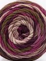 Fiber Content 100% Acrylic, Purple Shades, Brand ICE, Brown Shades, Yarn Thickness 4 Medium  Worsted, Afghan, Aran, fnt2-58027