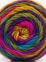 Περιεχόμενο ίνας 100% Ακρυλικό, Rainbow, Brand ICE, fnt2-58032