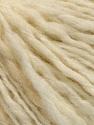 Fiber Content 50% Wool, 50% Acrylic, Brand ICE, Cream melange, fnt2-58055