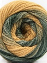 Fiber indhold 90% Akryl, 10% Polyamid, Light Camel, Brand ICE, Grey Shades, Yarn Thickness 4 Medium  Worsted, Afghan, Aran, fnt2-58122