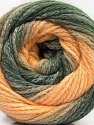 Fiber indhold 90% Akryl, 10% Polyamid, Light Salmon, Brand ICE, Grey Shades, Yarn Thickness 4 Medium  Worsted, Afghan, Aran, fnt2-58123
