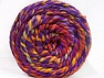 Fiber indhold 70% Akryl, 30% Uld, Yellow, Red, Purple, Orange, Brand ICE, Yarn Thickness 6 SuperBulky  Bulky, Roving, fnt2-58153