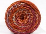Fiber indhold 70% Akryl, 30% Uld, Orchid, Orange, Light Blue, Brand ICE, Copper, Yarn Thickness 6 SuperBulky  Bulky, Roving, fnt2-58154