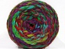 Fiber indhold 70% Akryl, 30% Uld, Turquoise, Red, Purple, Brand ICE, Green Shades, Yarn Thickness 6 SuperBulky  Bulky, Roving, fnt2-58156
