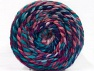 Fasergehalt 70% Acryl, 30% Wolle, Turquoise, Purple, Pink, Lavender, Brand ICE, Yarn Thickness 6 SuperBulky  Bulky, Roving, fnt2-58157