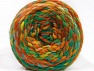 Fiber indhold 70% Akryl, 30% Uld, Yellow, Brand ICE, Green Shades, Gold, Brown Shades, Yarn Thickness 6 SuperBulky  Bulky, Roving, fnt2-58159