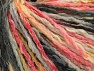 Contenido de fibra 50% Acrílico, 50% Algodón, Yellow, Pink, Brand ICE, Grey Shades, Yarn Thickness 4 Medium  Worsted, Afghan, Aran, fnt2-58160
