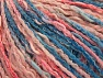Contenido de fibra 50% Algodón, 50% Acrílico, Pink Shades, Brand ICE, Blue Shades, Yarn Thickness 4 Medium  Worsted, Afghan, Aran, fnt2-58168