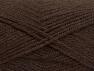 Fiber Content 50% Acrylic, 50% Wool, Brand ICE, Dark Brown, fnt2-58182