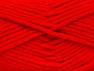 Fiber indhold 72% Præmie acryl, 3% Metallisk Lurex, 25% Uld, Red, Brand ICE, fnt2-58207