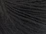 Contenido de fibra 35% Acrílico, 30% Lana, 20% Alpaca Superfine, 15% Viscosa, Brand ICE, Black, fnt2-58210