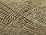 Fiber indhold 90% Akryl, 10% Metallisk Lurex, Brand ICE, Grey, Gold, Beige, fnt2-58220