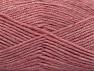 Fiber Content 50% Wool, 50% Acrylic, Pink Melange, Brand ICE, Yarn Thickness 4 Medium  Worsted, Afghan, Aran, fnt2-58229