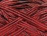 Fiber indhold 90% Metallisk Lurex, 10% Polyamid, Red, Brand ICE, fnt2-58242