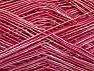 Περιεχόμενο ίνας 55% Πολυαμίδη, 45% Βισκόζη, Pink Shades, Brand ICE, fnt2-58248