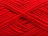 Fiberinnhold 67% Bomull, 33% polyamid, Red, Brand ICE, fnt2-58274