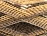 Fiber Content 50% Wool, 50% Acrylic, Brand ICE, Brown Shades, Yarn Thickness 4 Medium  Worsted, Afghan, Aran, fnt2-58276