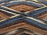 Fiber Content 50% Wool, 50% Acrylic, Brand ICE, Brown Shades, Blue Shades, Yarn Thickness 4 Medium  Worsted, Afghan, Aran, fnt2-58277