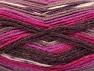 Fiber Content 50% Wool, 50% Acrylic, Purple, Maroon, Lilac, Brand ICE, Fuchsia, Yarn Thickness 4 Medium  Worsted, Afghan, Aran, fnt2-58280