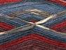 Fiber Content 50% Wool, 50% Acrylic, Red, Khaki, Brand ICE, Burgundy, Blue Shades, Yarn Thickness 4 Medium  Worsted, Afghan, Aran, fnt2-58283