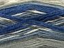 Fiber Content 50% Wool, 50% Acrylic, Brand ICE, Grey Shades, Blue Shades, Yarn Thickness 4 Medium  Worsted, Afghan, Aran, fnt2-58284