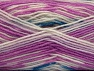 Fiber Content 75% Acrylic, 25% Wool, White, Orchid, Brand ICE, Yarn Thickness 3 Light  DK, Light, Worsted, fnt2-58389