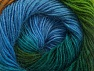 Fiber Content 60% Premium Acrylic, 20% Wool, 20% Alpaca, Turquoise, Brand ICE, Green Shades, Gold, Blue, Yarn Thickness 2 Fine  Sport, Baby, fnt2-58398