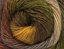 Fiber indhold 60% Præmie acryl, 20% Alpaka, 20% Uld, Brand ICE, Green Shades, Brown Shades, Yarn Thickness 2 Fine  Sport, Baby, fnt2-58417