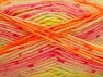 Vezelgehalte 75% Acryl, 25% Wol, Neon Colors, Brand ICE, Yarn Thickness 3 Light  DK, Light, Worsted, fnt2-58427