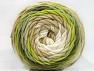 Contenido de fibra 100% Acrílico, Brand ICE, Green Shades, Cream, Beige, fnt2-58457