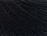 Fiber indhold 50% Akryl, 50% Uld, Brand ICE, Black, Yarn Thickness 2 Fine  Sport, Baby, fnt2-58530