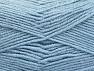 Fiber Content 50% Acrylic, 50% Wool, Light Blue, Brand ICE, fnt2-58561