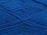 Fiber Content 50% Wool, 50% Acrylic, Brand ICE, Blue, Yarn Thickness 4 Medium  Worsted, Afghan, Aran, fnt2-58692