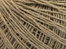 Fiber Content 50% Wool, 50% Acrylic, Brand ICE, Beige, Yarn Thickness 2 Fine  Sport, Baby, fnt2-58864