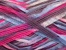 Fiber Content 100% Polyamide, White, Purple, Light Blue, Brand ICE, Fuchsia, Yarn Thickness 4 Medium  Worsted, Afghan, Aran, fnt2-58924