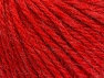 Fiber Content 60% Acrylic, 40% Wool, Red, Brand ICE, Yarn Thickness 6 SuperBulky  Bulky, Roving, fnt2-58990