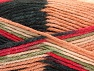 Fiber Content 80% Acrylic, 20% Polyamide, Red, Khaki, Brand ICE, Cream, Black, Beige, Yarn Thickness 4 Medium  Worsted, Afghan, Aran, fnt2-58996
