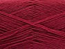 Vezelgehalte 75% superwash wol, 25% Polyamide, Brand ICE, Burgundy, Yarn Thickness 1 SuperFine  Sock, Fingering, Baby, fnt2-59004