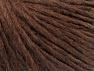 Fiber Content 50% Merino Wool, 25% Alpaca, 25% Acrylic, Brand ICE, Dark Brown, Yarn Thickness 4 Medium  Worsted, Afghan, Aran, fnt2-59038