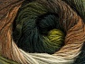 Fiber Content 60% Premium Acrylic, 20% Wool, 20% Alpaca, White, Brand ICE, Green Shades, Brown Shades, Yarn Thickness 2 Fine  Sport, Baby, fnt2-59053