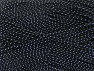 Contenido de fibra 96% Acrílico Premium, 4% Metálicos Lurex, Silver, Brand ICE, Black, fnt2-59055