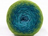 Conţinut de fibre 75% Superwash Wool, 25% Poliamidă, Turquoise Shades, Brand ICE, Green Shades, fnt2-59069