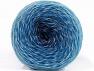 Fiberinnehåll 75% Superwash ull, 25% Polyamid, White, Brand ICE, Blue Shades, fnt2-59072