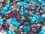 Magic Glitz Leftover This lot consists of about 100 hanks of Magic Glitz leftover yarn. The total weight is 2000 gr (70.5 oz.). Fiber Content 95% Acrylic, 5% Lurex, Brand ICE, fnt2-59169