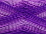 Fiber Content 100% Acrylic, Purple Shades, Lilac, Brand ICE, Yarn Thickness 3 Light  DK, Light, Worsted, fnt2-59338